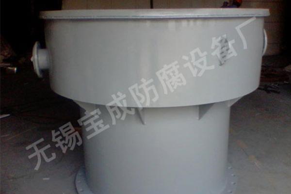 钢衬塑异型罐