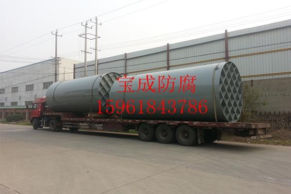 100立方米钢塑立式储罐